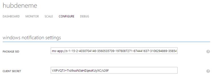 Package SID, Client Secret Code