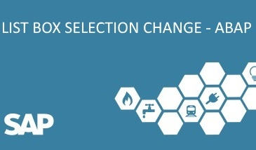 abap listbox selection change